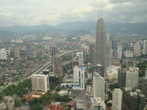 Utsikt överMalaysia